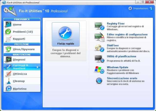 Ripara il PC e proteggi i tuoi dati in pochi click !