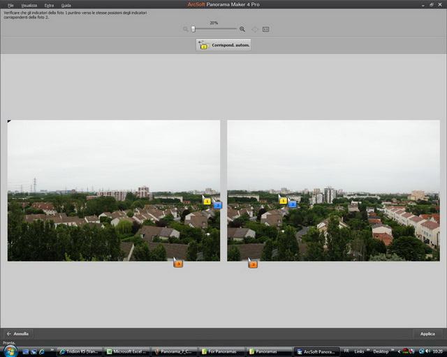 Foto panoramiche in pochi click