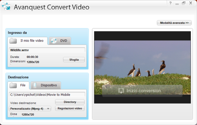 La conversione video non è mai stata così semplice!