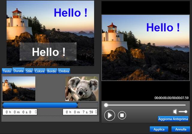 Montaggio, modifica e pubblicazione dei tuoi filmati in HD!