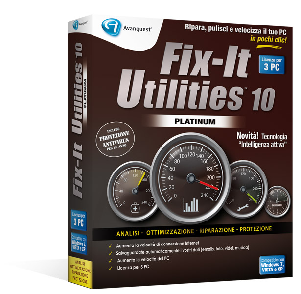 Fix-It Utilities 10 Platinum