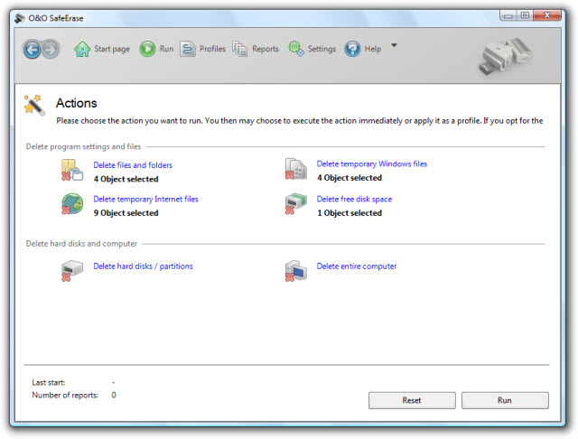 Securely and permanently delete files, folders and partitions!