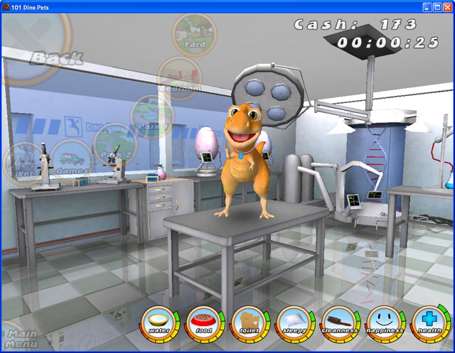 The Virtual Pet Game. Over 101 Dinos to adopt and love