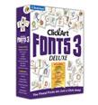 ClickArt Fonts 3 Deluxe