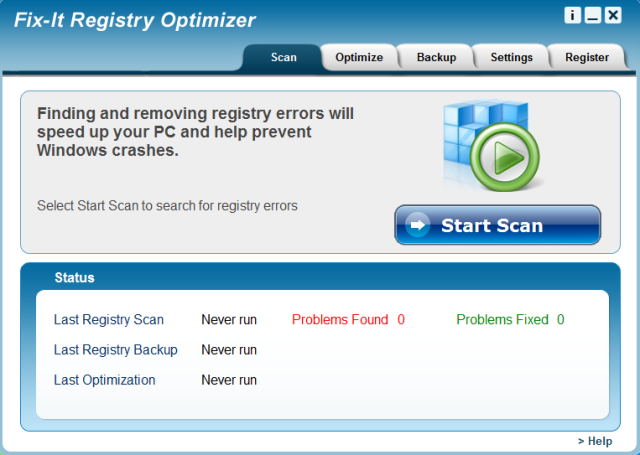 Repair your registry for a faster more reliable PC!