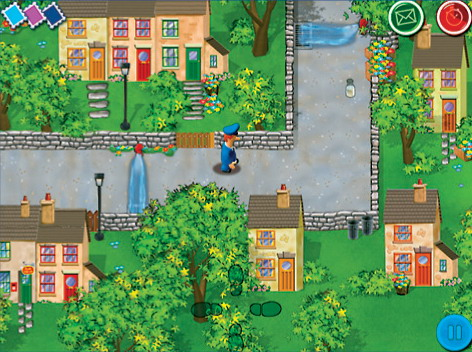 Join Pat and his cat Jess on his route around Greendale delivering  the mail and helping the townspeople