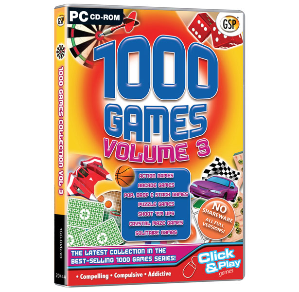 1000 Games Volume 3 ( PC|ENG)