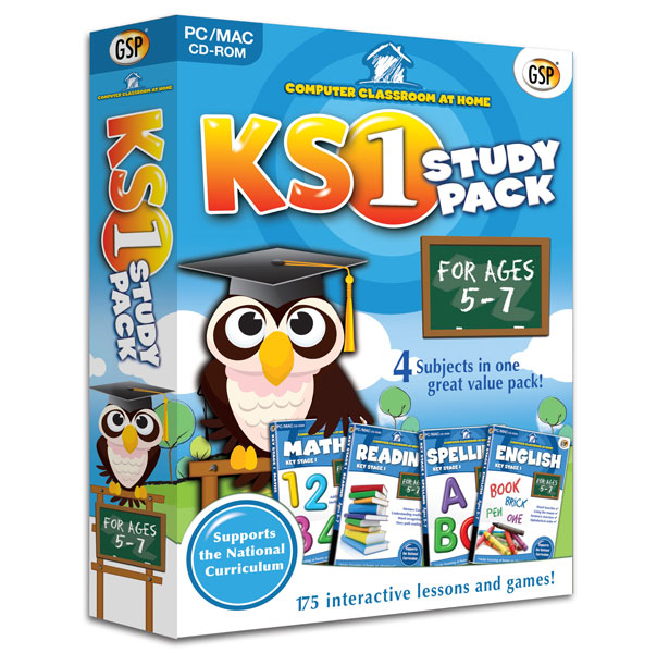 Computer Classroom at Home KS1 Ages 5 - 7