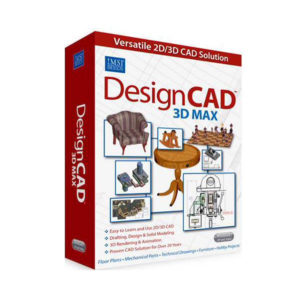 Designcad 3d Max V21 Versatile And Easy To Use 2d 3d Cad