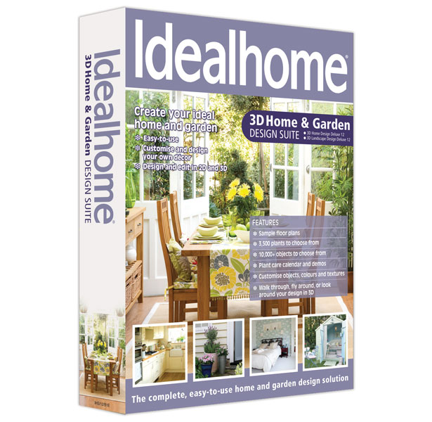 Ideal Home 3D Home & Garden Design Suite