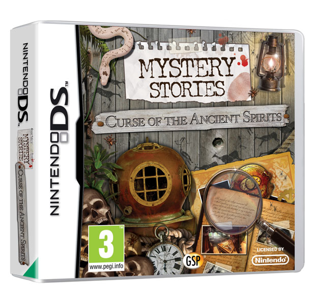 Mystery Stories - Curse of the Ancient Spirits DS