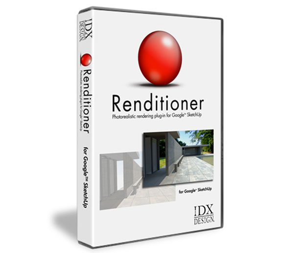IDX Renditioner Pro v.2 for SketchUp (for PC)