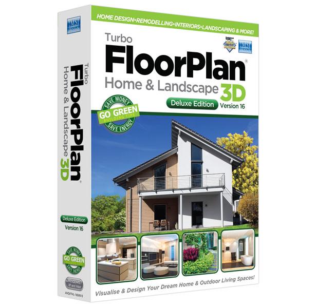 TurboFloorPlan 3D Home & Landscape Deluxe 16