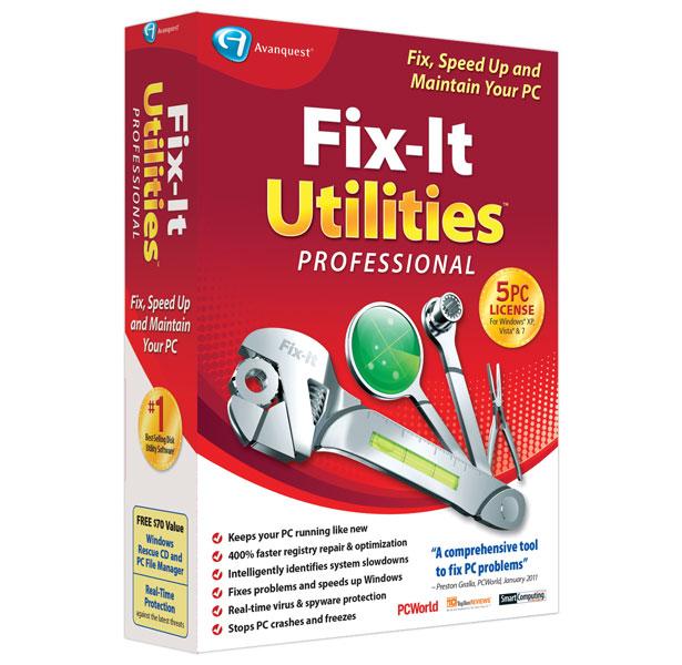 Fix-It Utilities™ 12 Professional