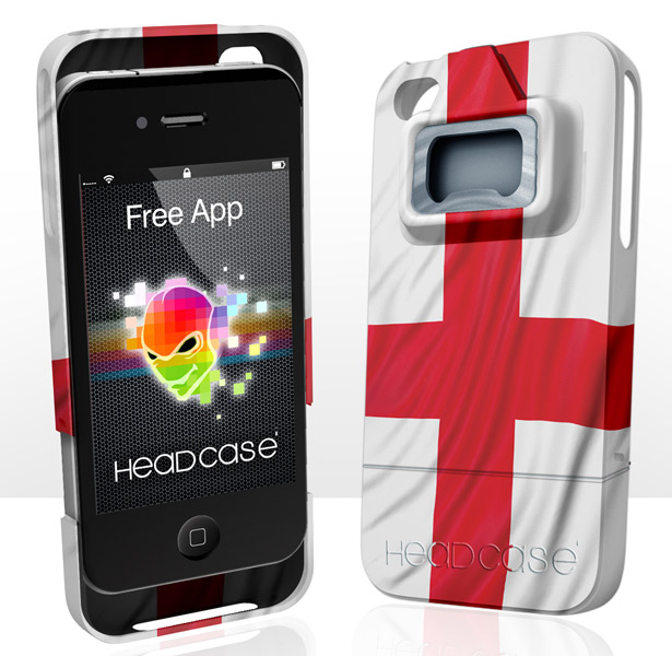 England iPhone Bottle Opener with free App