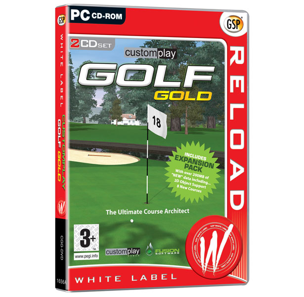 Custom Play Golf Gold