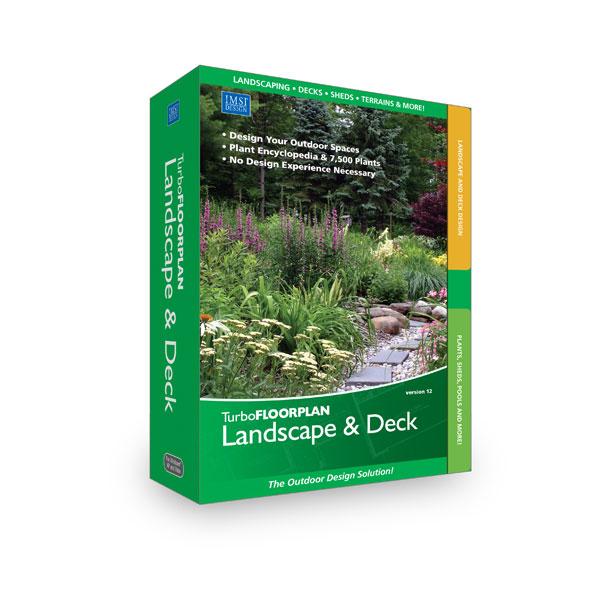 TurboFloorplan Landscape & Deck