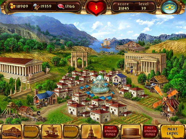 Build the heart of the Ancient Roman Empire and become the Emperor!