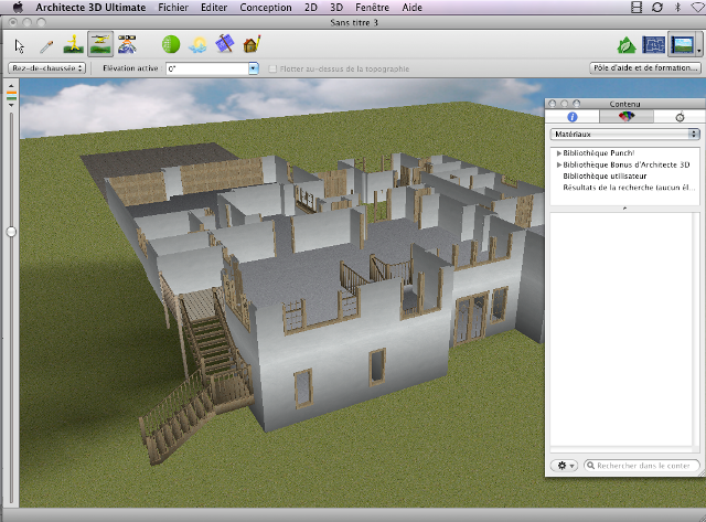 Architect 3d for macintosh ultimate edition the ultimate for Architecte 3d tutorial