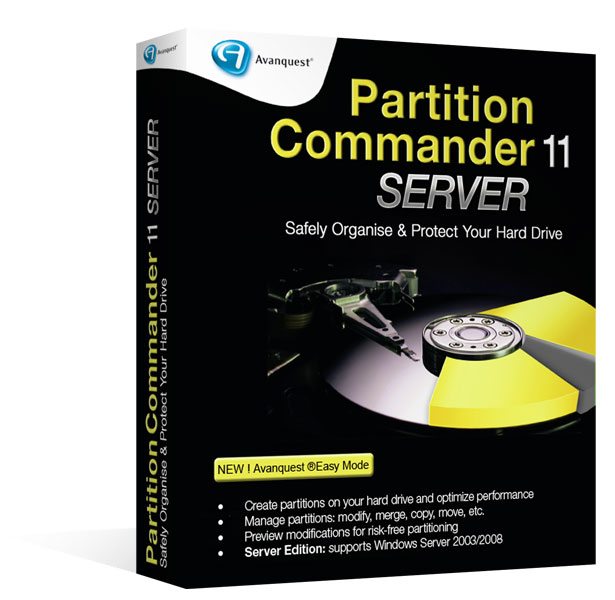 Partition Commander 11 – Server Edition