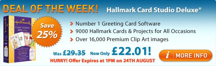 Save 25% on Hallmark
