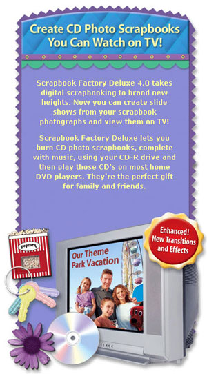 Create CD Photo Scrapbooks