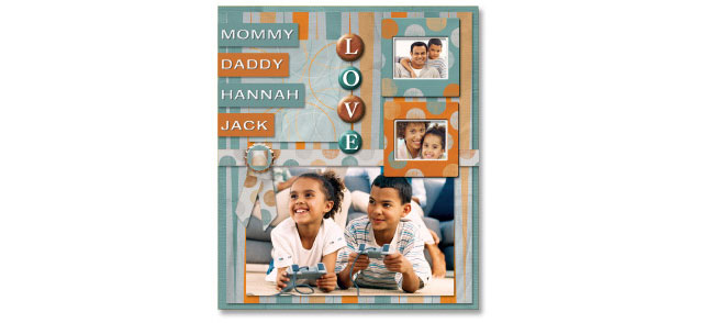 Create your own digital Scrapbook and share precious memories