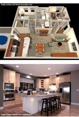 Interior decoration house outlook designing for Home plans with photos of inside and outside