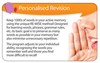 Personalised Revision