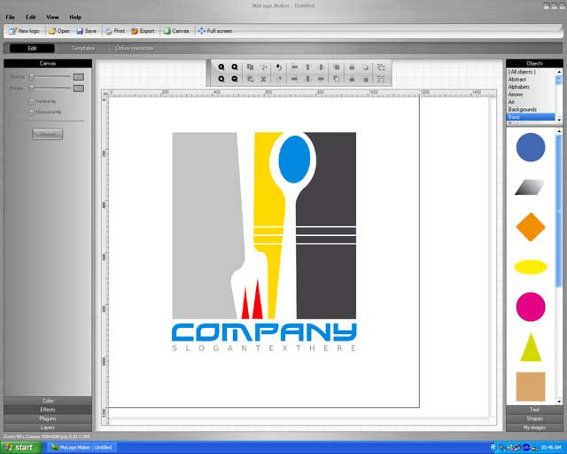Easily Design Your Own Logo & Tagline