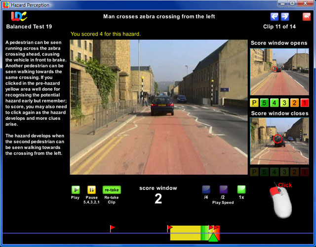 The UK's most realistic Hazard Perception training aid!