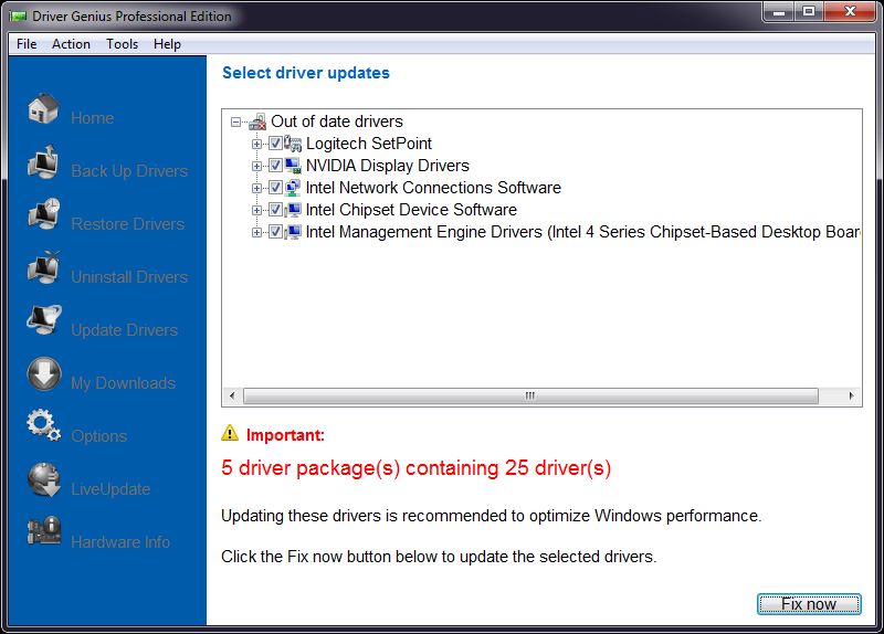 Driver Genius Professional 10 Device Driver Software
