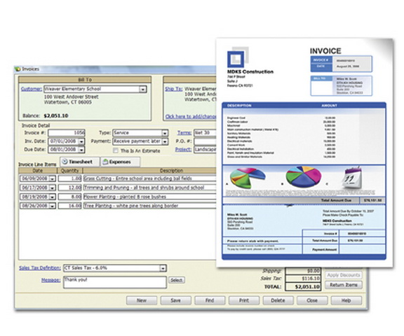 Create Professional Invoices & Estimates
