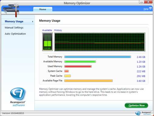 how to clear memory on pc