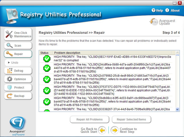 Eliminate PC Crashes, Freezes & Slowdowns with Registry Repair Software
