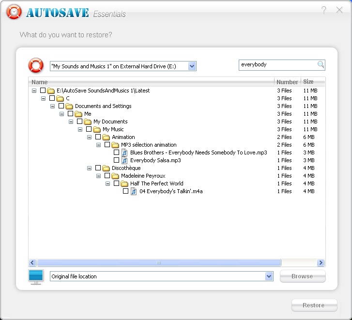 AutoSave Essentials Screenshot