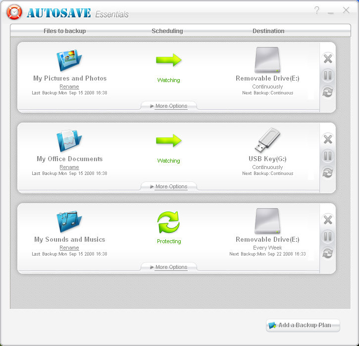 Starting with AutoSave Essentials is rapid. Fast setup, no hassle.