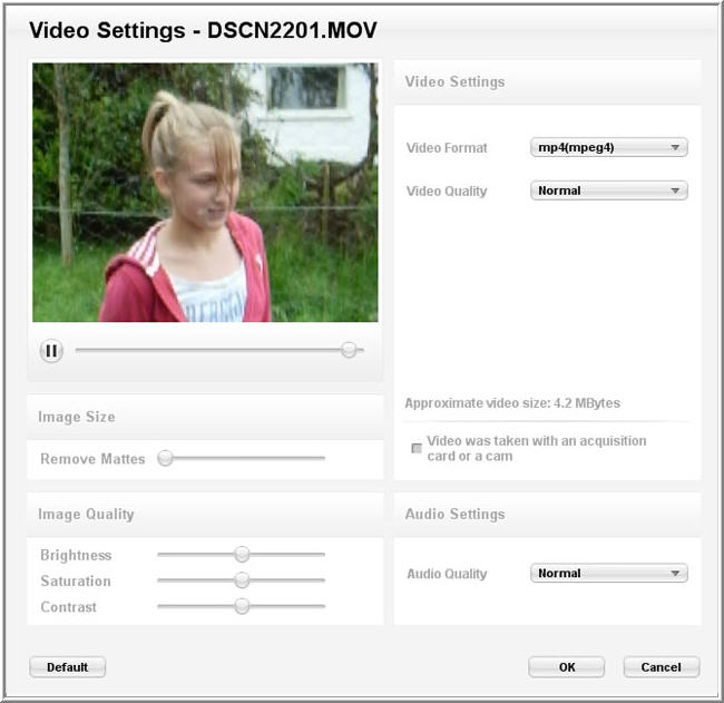 TransferMy Video Screenshot