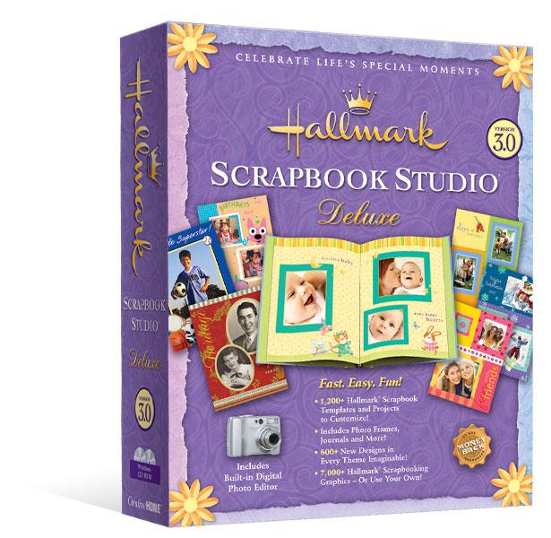 Hallmark Scrapbook Studio Deluxe 3 0