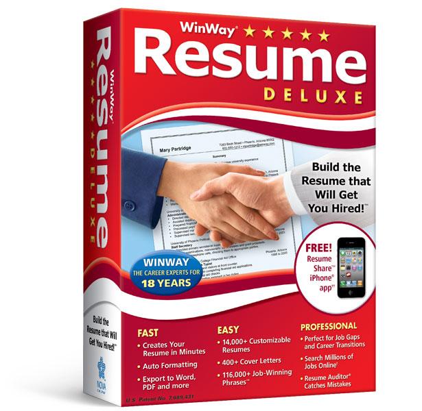 Resume Deluxe 12
