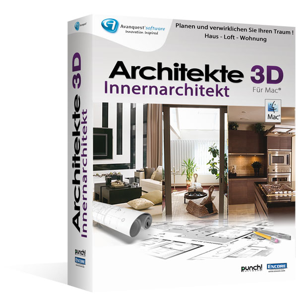 Architekt 3d x7 innenarchitekt f r mac fotorealistische for Innenarchitektur software