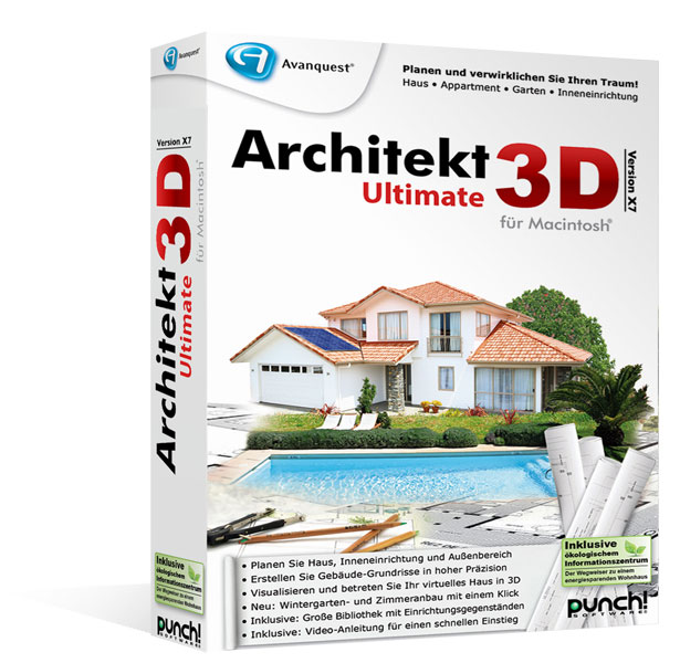 Architekt 3D X7.5 Ultimate für Mac®