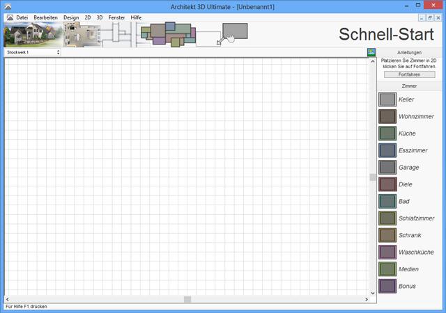 Fotorealistische Planung von Haus, Wohnung, Garten und Inneneinrichtung in 3D!