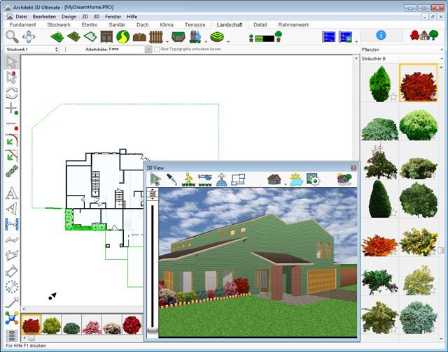 Architekt 3d X8 Home Ultrarealistische Planung Von Haus Garten