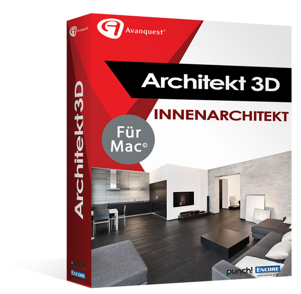 Architekt 3D X9 2017 Innenarchitekt </br>für MAC