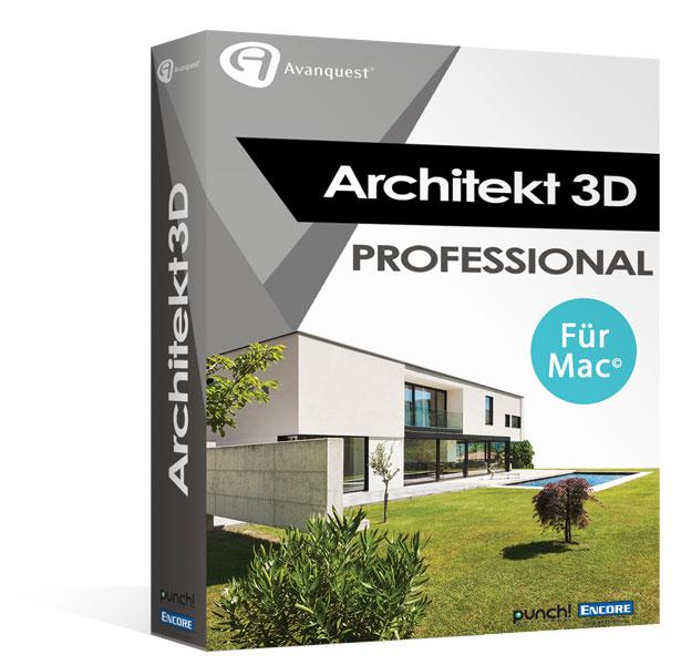 Architekt 3d x9 professional f r mac fotorealistische for Architekt 3d professional