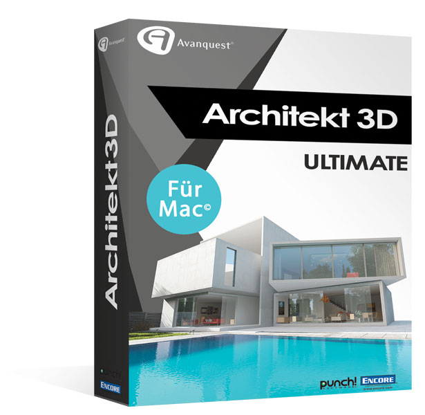 Architekt 3D X9 2017 Ultimate für Mac