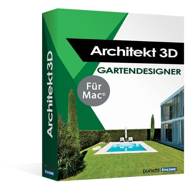 Architekt 3d x9 gartendesigner f r mac fotorealistische for Software gartenplanung mac