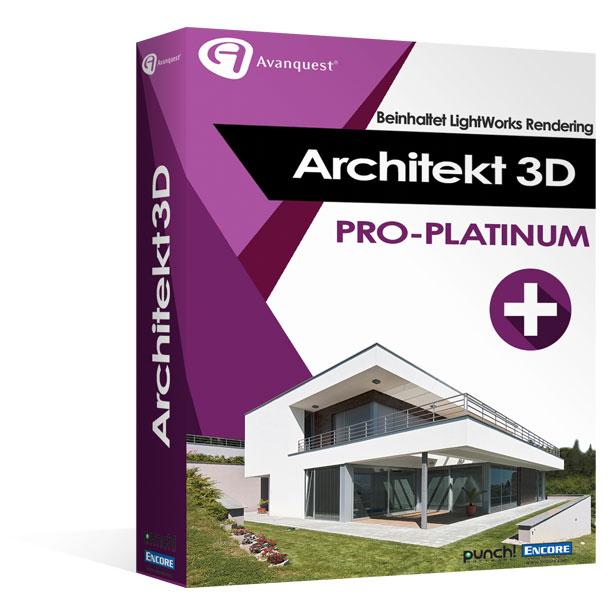 Architekt 3D X9 Pro-Platinum