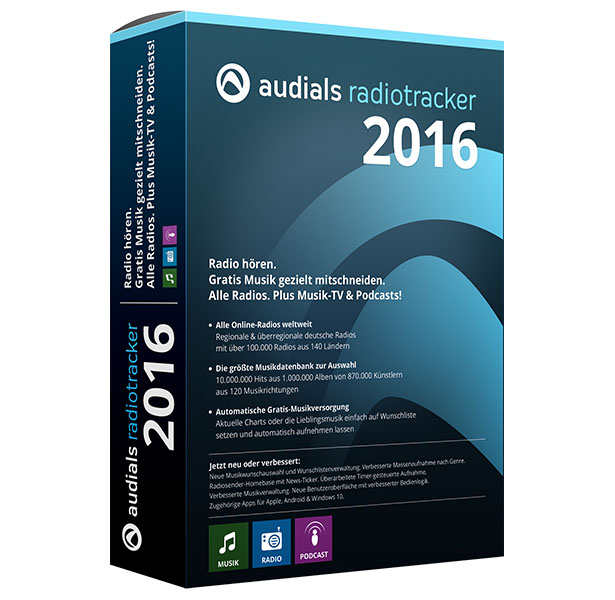 Audials Radiotracker 2016